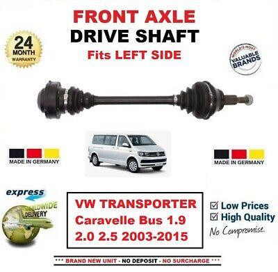 DRIVESHAFT FRONT LEFT LH OR RIGHT RH DRIVE SHAFT VW TRANSPORTER BUS T4 MK 4 2.5