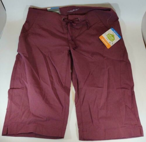 Columbia Shorts Active Fit Size 4 Omni-Shield Cranberry Advanced Repellency