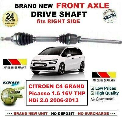 FOR CITROEN BERLINGO C4 MK1 MK2 DRIVE SHAFT NEARSIDE NEW OE QUALITY
