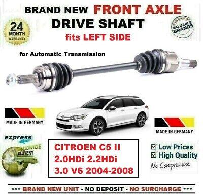CITROEN C5 2.0 HPi DRIVESHAFT /& CV JOINT NEAR//SIDE 2001/>2004