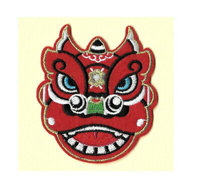 Dragon - Chinese - Parade - New Year - Embroidered Iron On Badge Patch - R