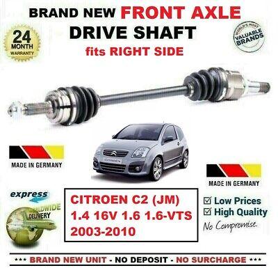 CITROEN C2 1.6 GT HUB NUT /& CV JOINT BOOT KIT DRIVESHAFT BOOTKIT-GAITER 03/>2004