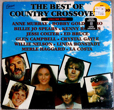 Merle Haggard Et Al Best Of Country Crossovers Vol 2 1979 Excelsior Sealed Lp