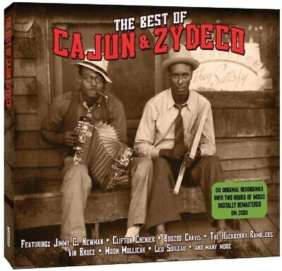 The Best Of Cajun & Zydeco 2-CD NEW SEALED Clifton Chenier/Jimmy C.Newman+