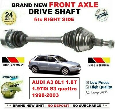 Audi TT 8N 1.8 T Quattro Genuine Shaftec Rear Wheel Side Drive Shaft CV Boot