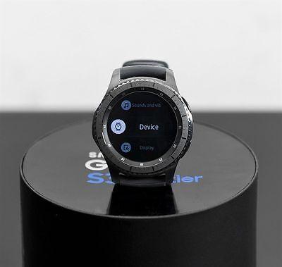 SAMSUNG Galaxy Gear S3 Frontier Smartwatch SM-R760 Smart Watch Wi-Fi Bluetooth