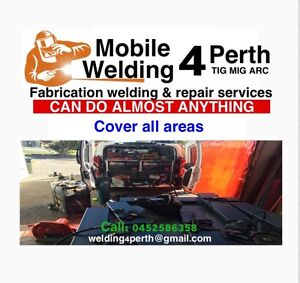 Mobile welder, 4 Perth.   COVER ALL AREAS Fremantle Fremantle Area Preview