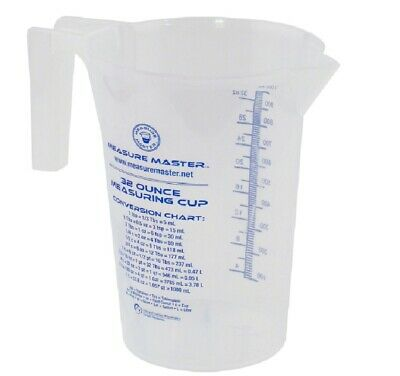 Hawthorne 740324 Measure Master Measuring Cup, 32 oz. Measure Measuring Cup