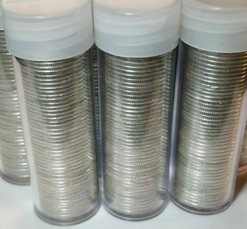 1 Roll (50) 1916-1964 Dimes 90% Silver Circulated $5 Face (MIXED SILVER DIMES)