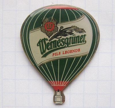 WERNESGRÜNER PILS LEGENDE / WERNESGRÜN  ............ Bier-Ballon-Pin (118h)