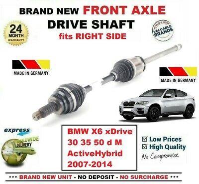E71-E72 DRIVE SHAFT NEAR//SIDE 2007/>2010 BMW X6 3.0 xDrive 35i