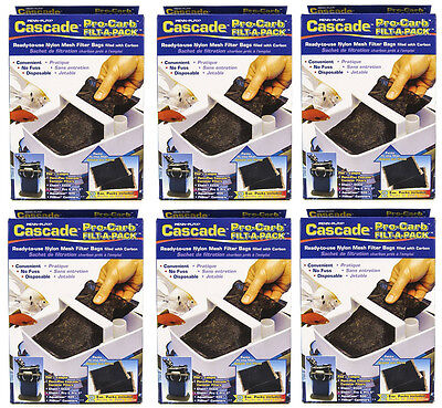 CASCADE PRO CARB CARBON FOR CASCADE 500/700/1000/1200/1500 CANISTER FILTERS 12PK