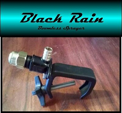Black Rain Boomless Sprayer Nozzle For Utv Tractor Spot Sprayer- Up To 31ft.