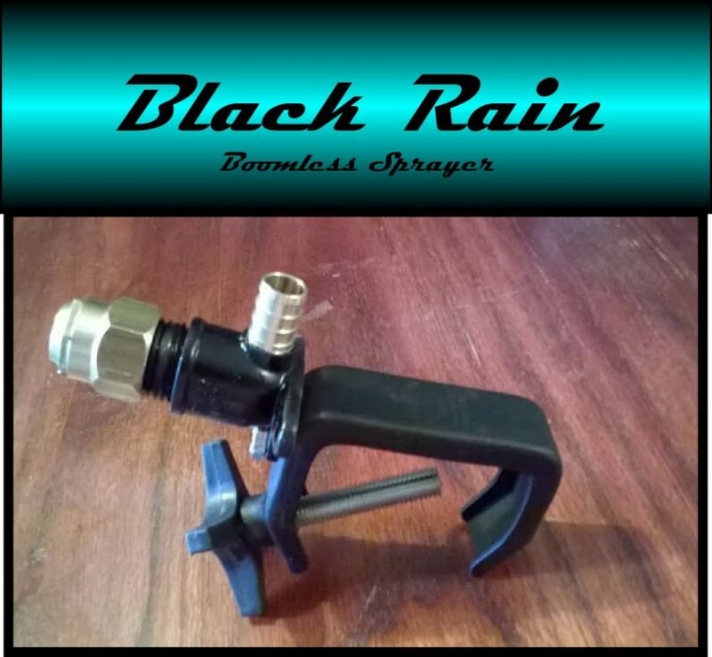 Black Rain Boomless Sprayer Nozzle for UTV, Tractor Spot Sprayer- Up to 31Ft.