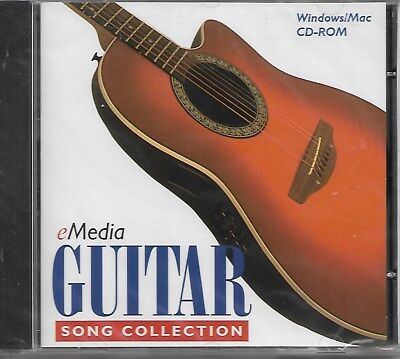 eMedia Guitar Song Collection (CD-ROM, 1998) Brand New & Ships FREE!