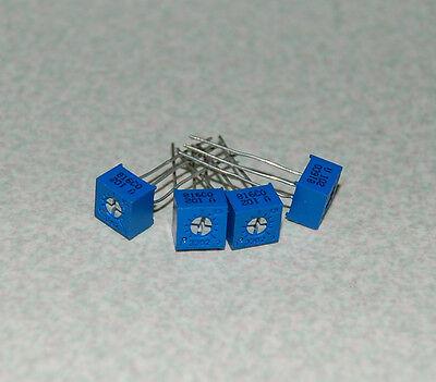 2pcs 3362 P Variable Resistor Potentiometer Trimmer 102 1k Ohm