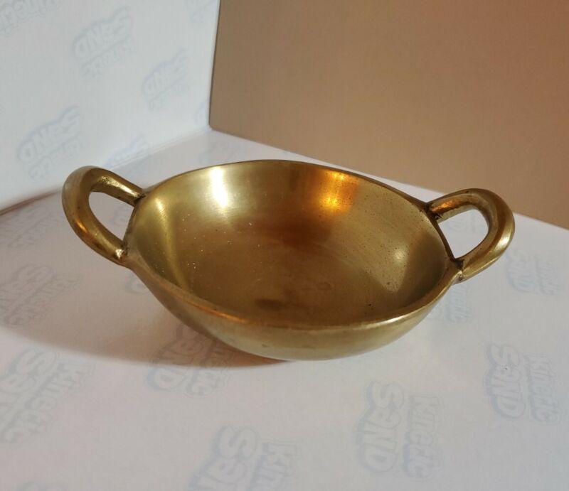 """Vintage Pickard Gold Embossed Victorian 4 1/2"""" Serving Bowl - Excellent"""