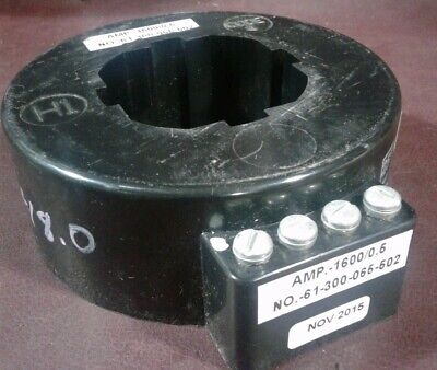 61-300-065-502 Trip Transformer. Amp-160005. Dual Winding Tapped Sensors.