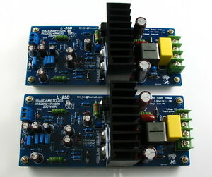 Assembled-L25D-Stero-Power-Amplifier-board-IRS2092-IRFB4020PBF-250W-8ohm