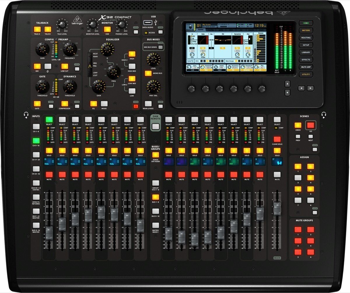 Behringer X32 COMPACT 32-Channel Digital Mixer Board Console. Buy it now for 1798.99