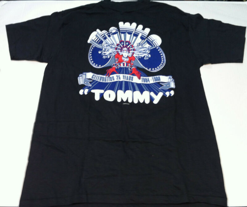 WHO Tommy 25th Anniversary 1989 Concert Tour T-Shirt