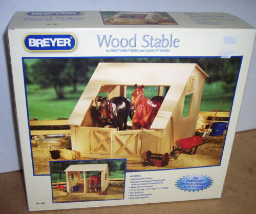 BREYER HORSE WOOD STABLE  FOR TRADITIONAL & CLASSIC HORSES #306 2011 NIB