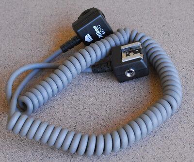 Nikon SC-17 TTL Coiled Remote Off Camera Flash Sync Cord SB-910 900 800 700 600  Nikon Ttl Cord