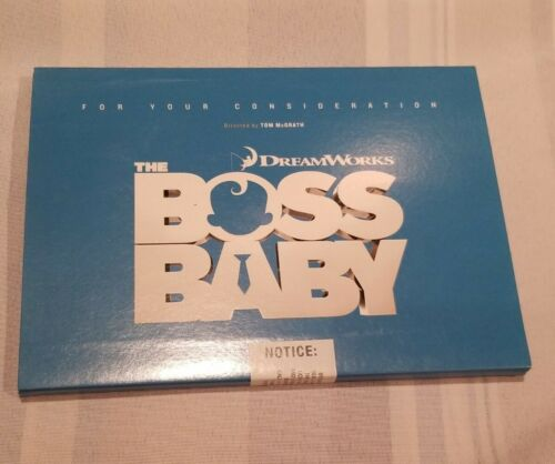 The Boss Baby Fyc For Your Consideration Dream Works Tom Mcgrath Exclusive New  - $45.00