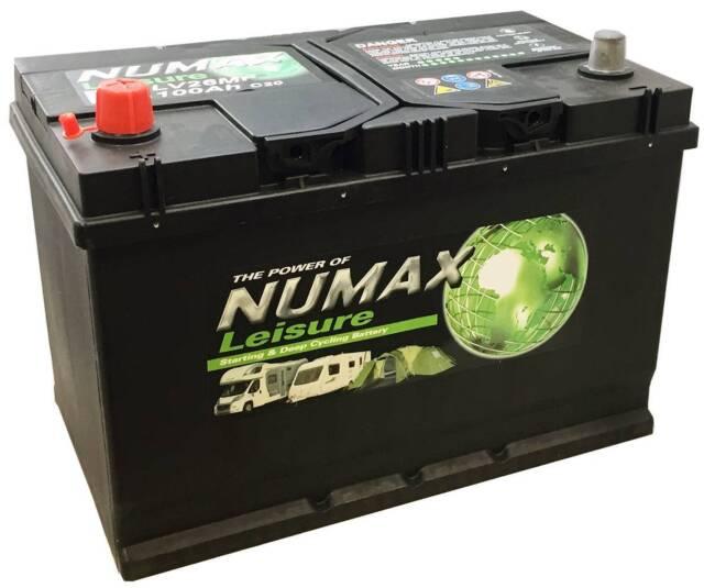 LV26MF - 100Ah Sealed Leisure Battery by Numax