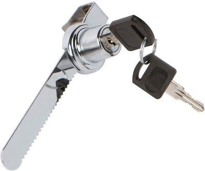 Glass Sliding Door Ratchet Lock Key Secure Trophy Cabinet Retail Display Case