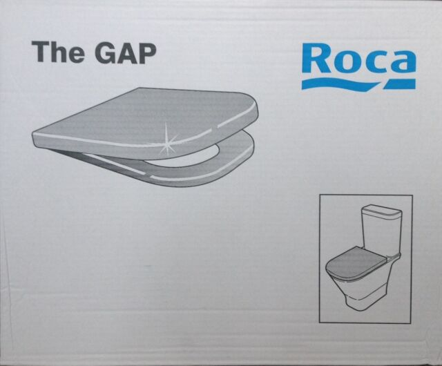 ROCA The GAP Toilet Seat & Cover  Soft Closing Hinges 801472004