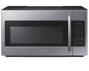 Wanted stainless steel microwave