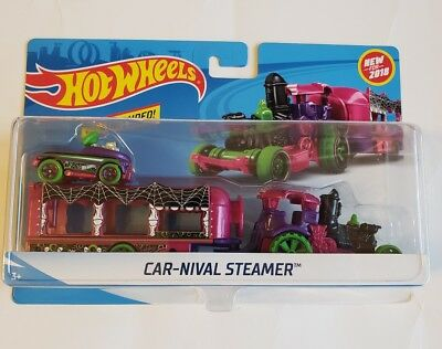 Hot Wheels Car-Nival Steamer (Halloween Themed) 2018 - Halloween Car Themes