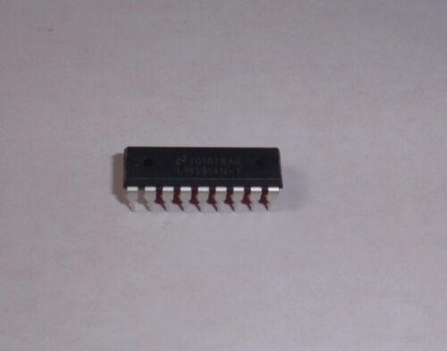 LM3914N LM3914 Dot/Bar LED LCD Nixie Display Driver DIP18