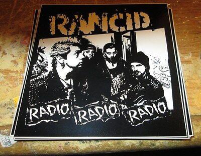 RANCID STICKER COLLECTIBLE RARE VINTAGE 90'S METAL DECAL