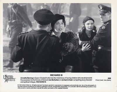 1995 Vintage Press Photograph Annette Bening   Richard Iii    United Press Photo