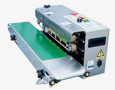 Usa Stocked Frd-1000 Horizontal Continuous Band Sealer Ink Coder Machine