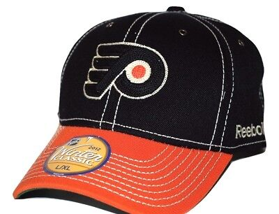 Philadelphia Flyers Mens Classic Jacket - Philadelphia Flyers Reebok NHL Winter Classic Stretch Fit Hockey Cap Hat