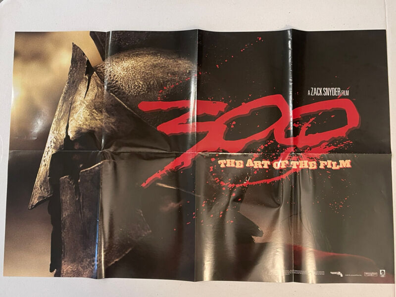 300 - The Art Of The Promo Poster 22x34 Frank Miller, 2006 Double Sided