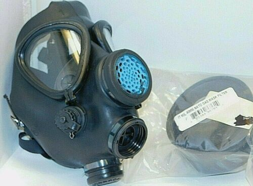 Israeli M15 Gas Mask with Standard 40mm Filter, emergency survival w/ NEW Filter