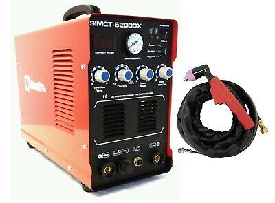 Plasma Cutter 50a Simadre 110220v 5200dx 200a Tig Arc Mma Welder Power Torch