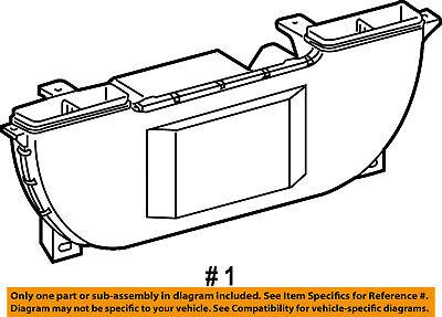 Dodge CHRYSLER OEM 03-06 Sprinter 2500 2.7L Evaporator Heater-Heater 5124700AA