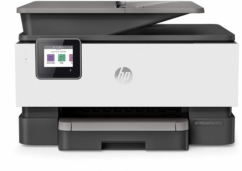 HP Officejet Pro 9015 All-in-One Wireless Printer, Scan, Copy and Fax (1KR42A)
