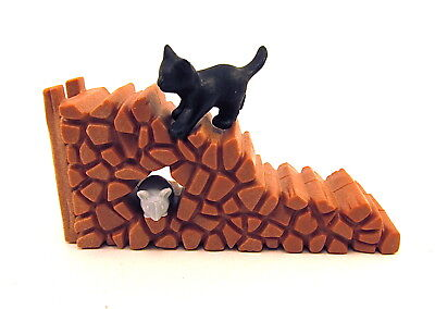PLAYMOBIL~Wood Pile~Black Kitten~Mouse~Forest~Farm~Ranch