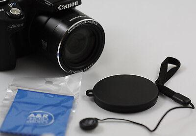 Lens Cap For Fuji S2950 S2940 S2950hd S2900hd S2940hd Hd Finepix Fujifilm 55