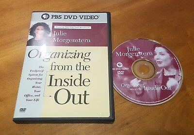 Julie Morgenstern - Organizing from the Inside Out (DVD, 2004)