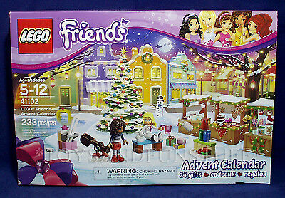 New Lego 41102 Friends Advent Calendar   Christmas 24 Gifts Andrea Liza   Sealed