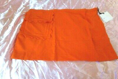 Victoria Beckham Size 3X Women's Skirt Orange