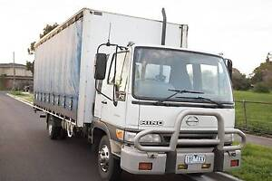 Hino 2001 FD Tautliner truck Broadmeadows Hume Area Preview