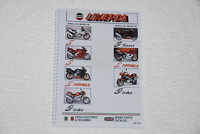 Laverda Parts Manual New 750 (Zane) Models